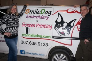 Susan Maxwell-Smile Dog Embroidery